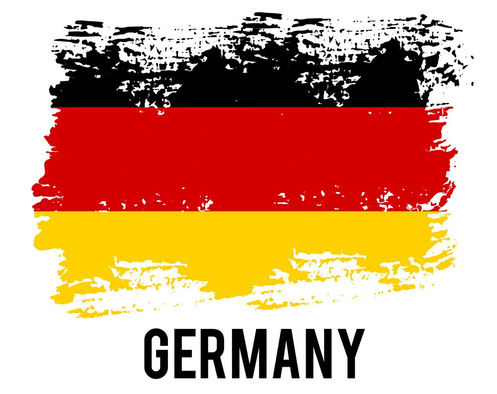 germany flag official colors and proportion vector 25231023